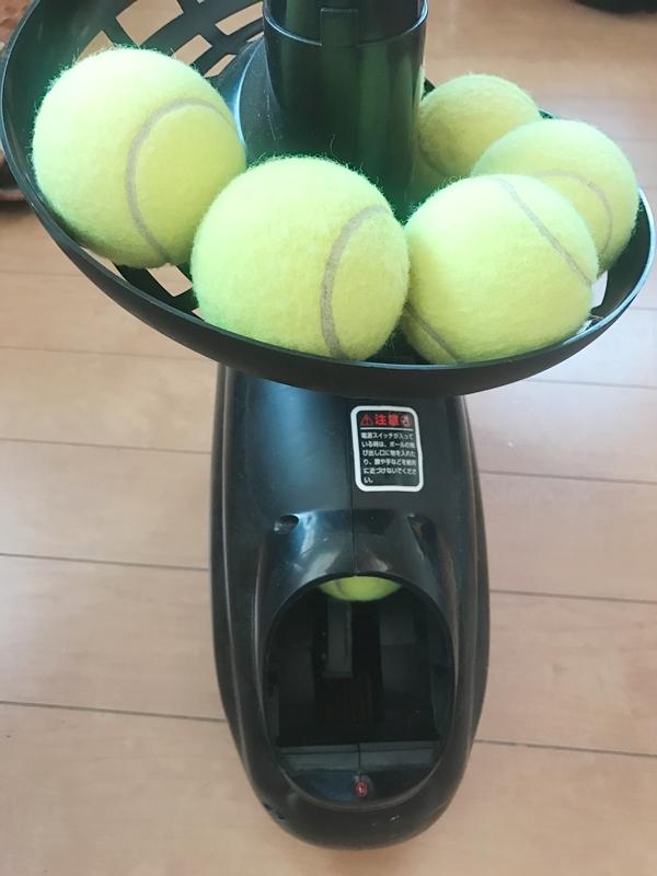 テニストスマシン