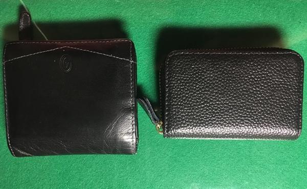 買ったカードケースと財布