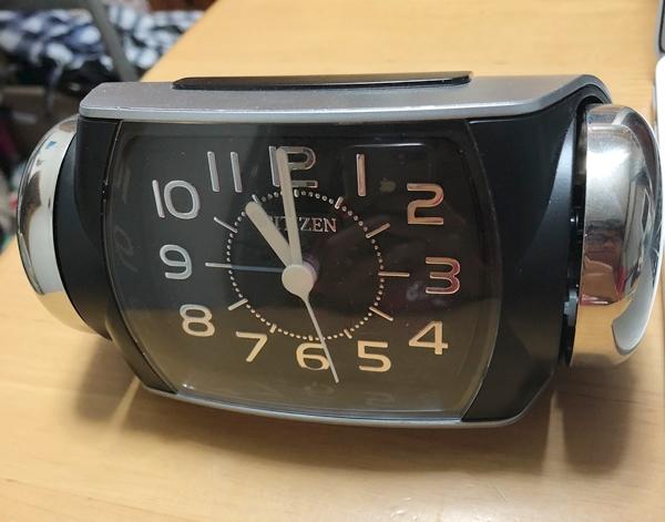 大音量 目覚し時計 シチズン バトルパワーR636