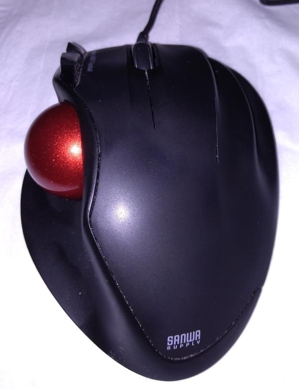 トラックボールマウス サンワサプライ