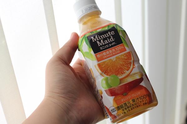 ミニッツメイド オレンジブレンド 350ml